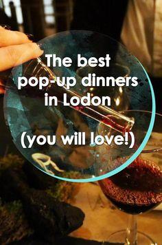 The best pop-up dinners in London | Runawaykiwi, Expat in London