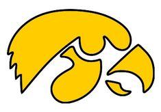 Iowa Hawkeyes Logo   Iowa Hawkeyes Logo