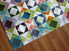 Value Added quilt tutorial by StitchedInColor, via Flickr