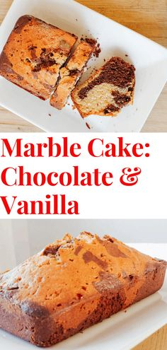 Swirled vanilla & chocolate marble cake is moist & buttery. Easy recipe to prepare, this is the perfect side to your tea/coffee! Break that top crunch ASAP! #marblecake #chocolate #vanilla #teatime #coffeebreak Chocolate Marble Cake, Chocolate Desserts, Pear Upside Down Cake, Oven Dishes, Baking With Kids, Almond Cakes, Breakfast Cake, Sliced Almonds, Almond Recipes