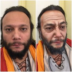 Old age makeup for stage by Yeşim Arsoy.  dr.yesimarsoy/ instagram Dr. Yeşim Arsoy Makeup and FX Artist/ facebook