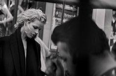 "Eva Herzigova "" Walking "" by Peter Lindbergh Vogue Italia October 2016"