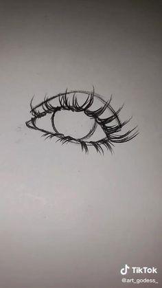 Art Drawings Sketches Simple, Pencil Art Drawings, Realistic Drawings, Easy Drawings, Easy Eye Drawing, Simple Face Drawing, Eye Drawing Tutorials, Drawing Techniques, Art Tutorials