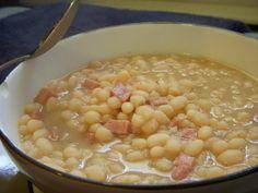 navy bean & ham soup!