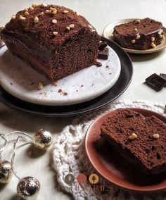 Cake Recipe   Devil's Food Cake Recipe   Chocolate Ganache Recipe Devil Chocolate Cake Recipe, Easy Chocolate Ganache, Chocolate Loaf Cake, Dark Chocolate Cakes, Chocolate Sweets, Chocolate Shavings, Chocolate Recipes, Sweets Recipes, Cake Recipes
