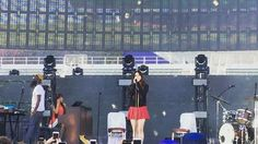May 20, 2017: Lana Del Rey debuts new song 'Cherry' at the KROQ Weenie Roast music festival #LDR #video #snippet