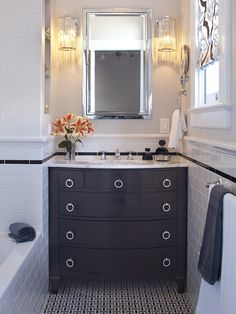 Wow . . . cool use of space . . . maybe to use in the master bath . . . depending on what layout we choose . . .