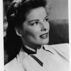 """Katharine Hepburn - actress known for her roles as  strong, sophisticated intelligent women she won 4 academy awards...""""I never realized until lately that women were supposed to be the inferior sex."""""""