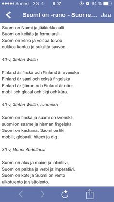 Suomi on... Finnish Language, Independence Day, Festivals, Science, Learning, School, Ideas, Historia, Finland