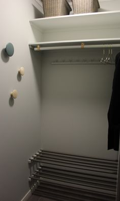 HALL – The Black Sea House ideas small hallway ideas ideas paint halls hallway decorating hallway ideas Hallway Closet, Hallway Storage, Entry Hallway, Walk In Closet, Hallway Ideas, Upstairs Hallway, Shoe Shelf Diy, Fall Entryway, Small Hallways