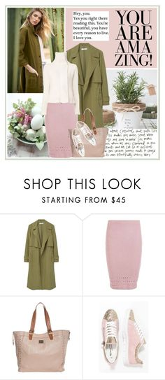 """""""ETHEREAL GARDEN"""" by gustosa ❤ liked on Polyvore featuring Chanel, MANGO, YM by Yakshi Malhotra, Pepe Jeans London, Tamaris and Ann Demeulemeester"""