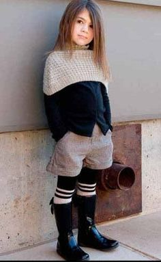 My child better be cute! Because she will be this well-dressed