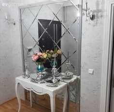 Ayna, Dresuar, Antre