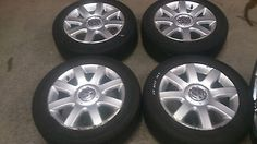 """Vw golf mk5 16"""" alloy #wheels with #tyres #205/55r16,  View more on the LINK: http://www.zeppy.io/product/gb/2/152055294648/"""