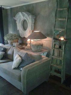 soft and comfy Sober Living, Home And Living, Gray Interior, Interior Design, Vibeke Design, Rustic Wood Walls, Cottage Design, Beautiful Interiors, House Colors