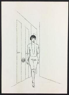 "Crepax, Guido - Original illustration ""Dilà"" - W.B."