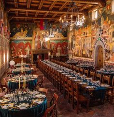 The Great Hall, Castello Di Amorosa, Calistoga, California