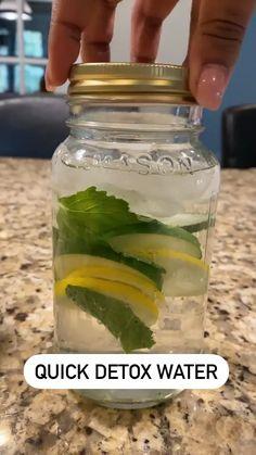 Healthy Detox, Healthy Juices, Healthy Smoothies, Healthy Drinks, Smoothie Recipes, Healthy Snacks, Healthy Eating, Healthy Recipes, Healthy Water