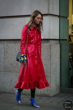 London Fashion Week Fall 2017 Street Style: Tess Yopp