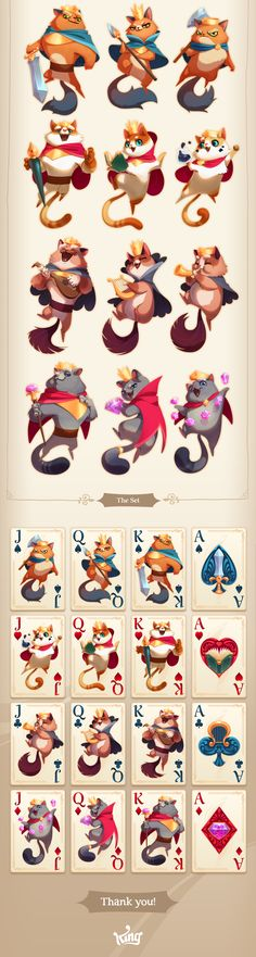 Shuffle Cats - Cards on Behance