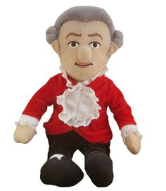 Wolfgang Amadeus Mozart Little Thinker Doll Plush Dolls, Doll Toys, Mozart For Kids, Gifts For Old People, Amadeus Mozart, The Magic Flute, Music Lesson Plans, Up Music, Sheet Music
