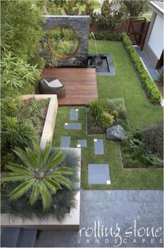 55 Small Garden and Landscaping Design for Small Backyard Ideas is part of Modern backyard landscaping - You might think that keeping a small yard open and loosely planned would make it feel bigger, but the opposite is true The key to