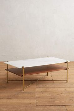 Elemental Layers Coffee Table - anthropologie.com