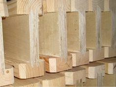 Двутавровая деревянная балка: новые технологии в строительстве