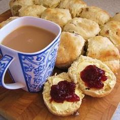 Easy Peasy Lemonade Scones @ allrecipes.com.au