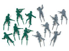 Amazon.com: Fred and Friends Food Fighters: Toy Soldier Party Picks: Kitchen & Dining