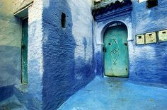 The Blue Town
