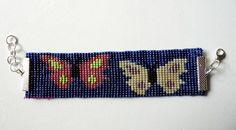 Bead loom bracelet (my pattern).