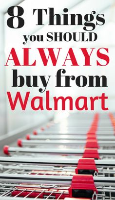 Things you should always buy from walmart. Things I ALWAYS buy from Walmart. Saving money at walmart.
