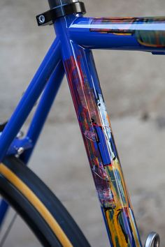When it comes to art, we all see different things. As they say, we may not know it, but we know what we like. A hand-painted frame by Dario Pegoretti is a reflection of the man who has lived a life full of colour and passion for speed and steel.