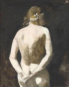 Andrew Wyeth. Helga