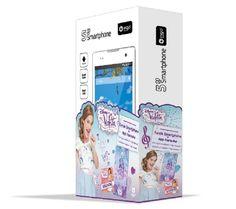Smartphone 3g violetta con custodia e applicazione Violetta 5 pollici