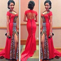 prom dresses short african - Google Search