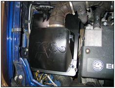 Aumenta la potencia de su Vauxhall/Opel Astra o Zafira en menos de 90 minutos con un kit de admisión de aire K&N.