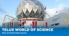 Science World British Columbia is a great place with cool exhibits for kids of all ages that change all the time.  Make sure to checkout the Omnimax Theatre!
