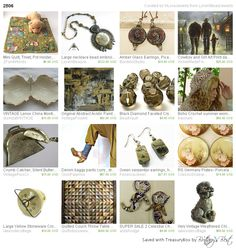 2506 by LoraViBeadJewelry includes our jungle mini-quilt http://etsy.me/1LsBfVm via @Etsy