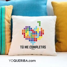 """Cojín personalizado """"Tetris"""""""