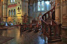 Timisoara - Inside of Millennium Church