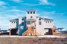 Swink, Southern Shores, Semi-Oceanfront, Outer Banks Vacation Rental