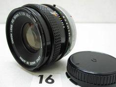 L1670GC CANON FD 50mm F1.8 S.C. ジャンク_画像1