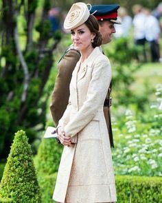 Catherine today, 14th June 2016,at a Garden Party in Northern Ireland ❤ #weadmirekatemiddleton #weadmireprincewilliam #aroyallovestory #willandkate #lifeofaduchess