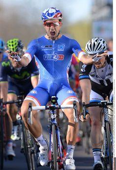 Paris - Nice 2014 - Nacer Bouhanni (FDJ.fr) wins stage 1 of Paris-Nice Photo: © Tim de Waele/TDW Sport