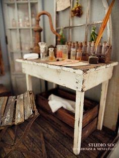 perfumer workroom by studio soo