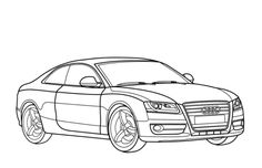 Sport Car Coloring Pages Printable | Car Coloring Pages ...