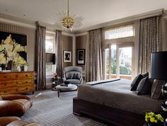 This Fabulous Room is a stunning master suite designed by Jay Jeffers in San Francisco.