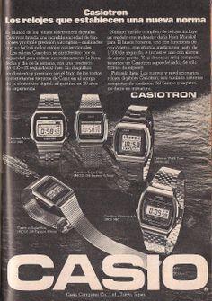 Retro Watches, Vintage Watches, Cool Watches, Watches For Men, Watch Ad, Game & Watch, Casio Watch, Digital Watch, Advertising
